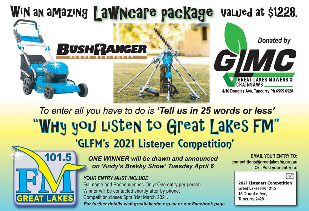 Win a Lawn Care Package